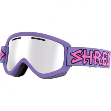 Shred Wonderfy Goggles - Air Purple/Platinum