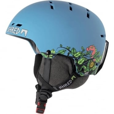 Shred Bumper Noshock Helmet - Dragosaurus Blue