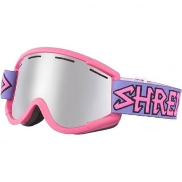Shred Nastify Goggles - Air Pink/Platinum