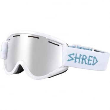 Shred Nastify Goggles - Hey Pretty Girl/Platinum