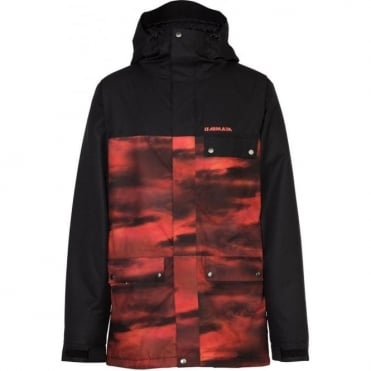 Armada Emmett Insulated Jacket - Black/Red