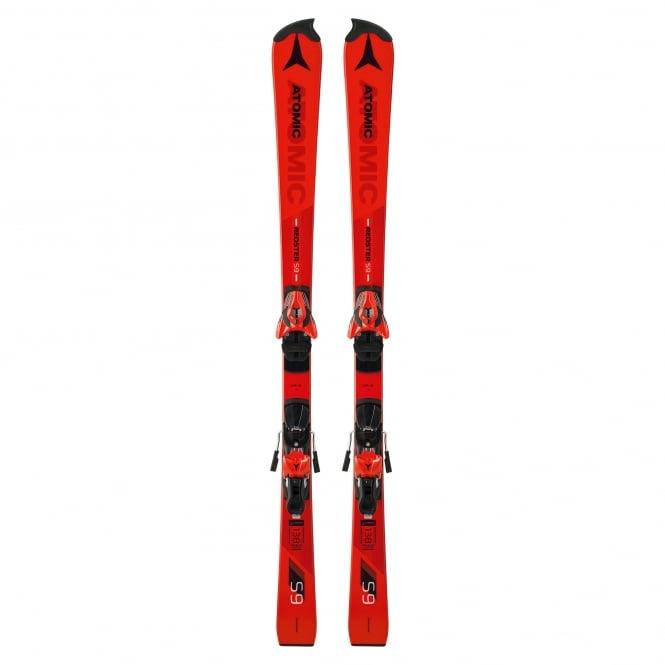 Atomic Redster S9 FIS Junior Slalom Race Skis 145cm + X12