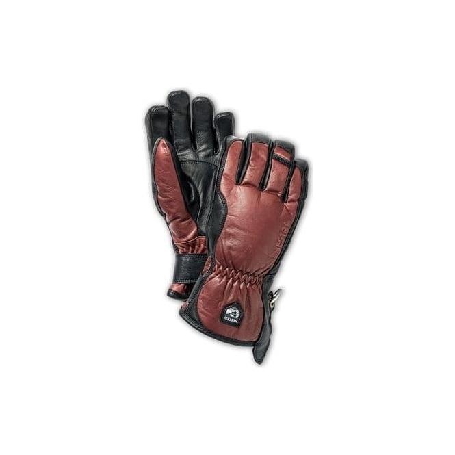 Julkaisupäivä klassiset tyylit edullinen hinta Mens Alpine Pro Leather Swisswool Merino Glove - Brown/Black