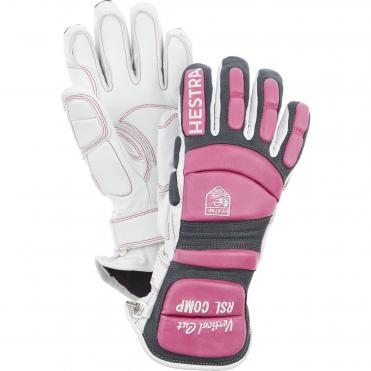 895760e72 Hestra RSL Comp Vertical Cut Gloves - Off White / Cerise