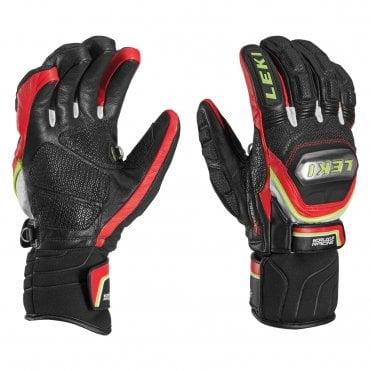 c5e9907c5ebbdd Leki World Cup Race Titanium S Ski Glove - Black/Red