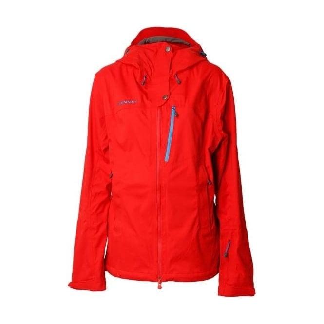 cheapest cheapest info for Mammut Wmns Niva DRYtech 3L Jacket - Poppy Red
