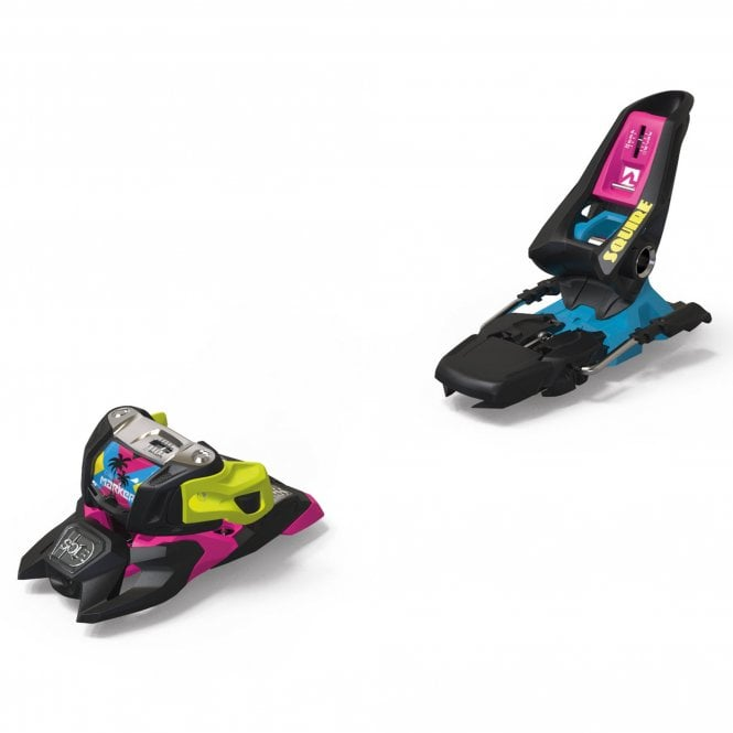 Marker Squire 11 ID Ski Binding - Black/Pink/Blue