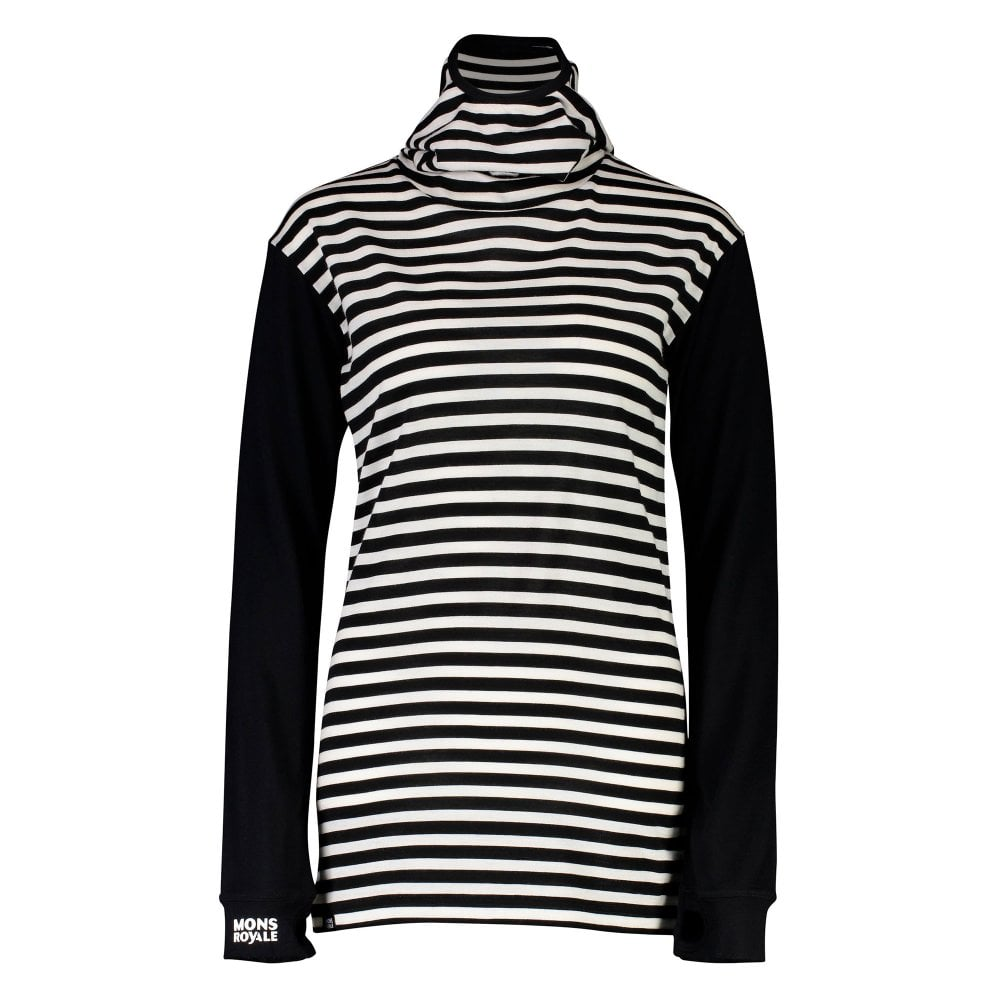 Yotei Bf Women's Hoodie Stripe Blackthick Powder H9YIE2WDe