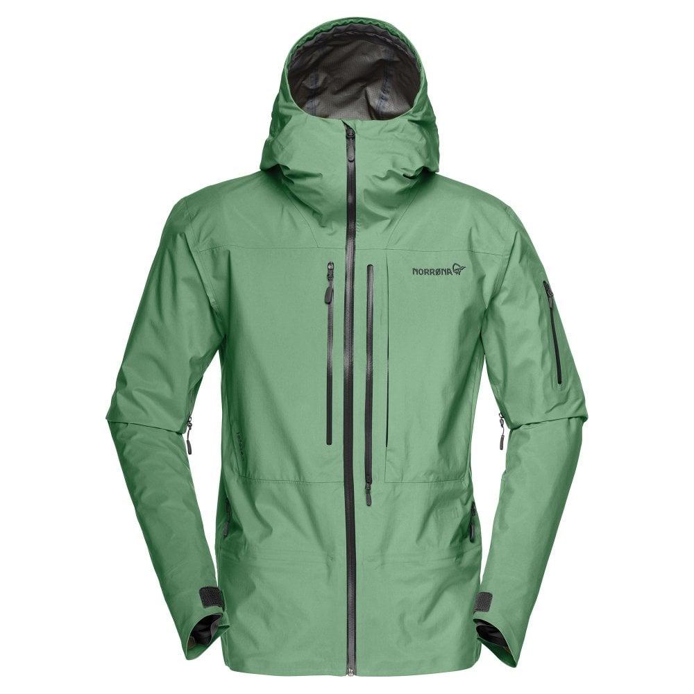 28385ab9 Norrona Lofoten Gore-Tex Pro Men's Ski Jacket - Dark Ivy - Ski ...