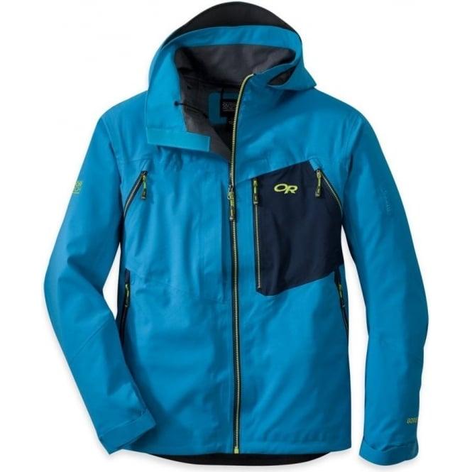 938dd80659f Outdoor Research Mens Valhalla Jacket - Blue - Ski Jackets from Ski  Bartlett UK