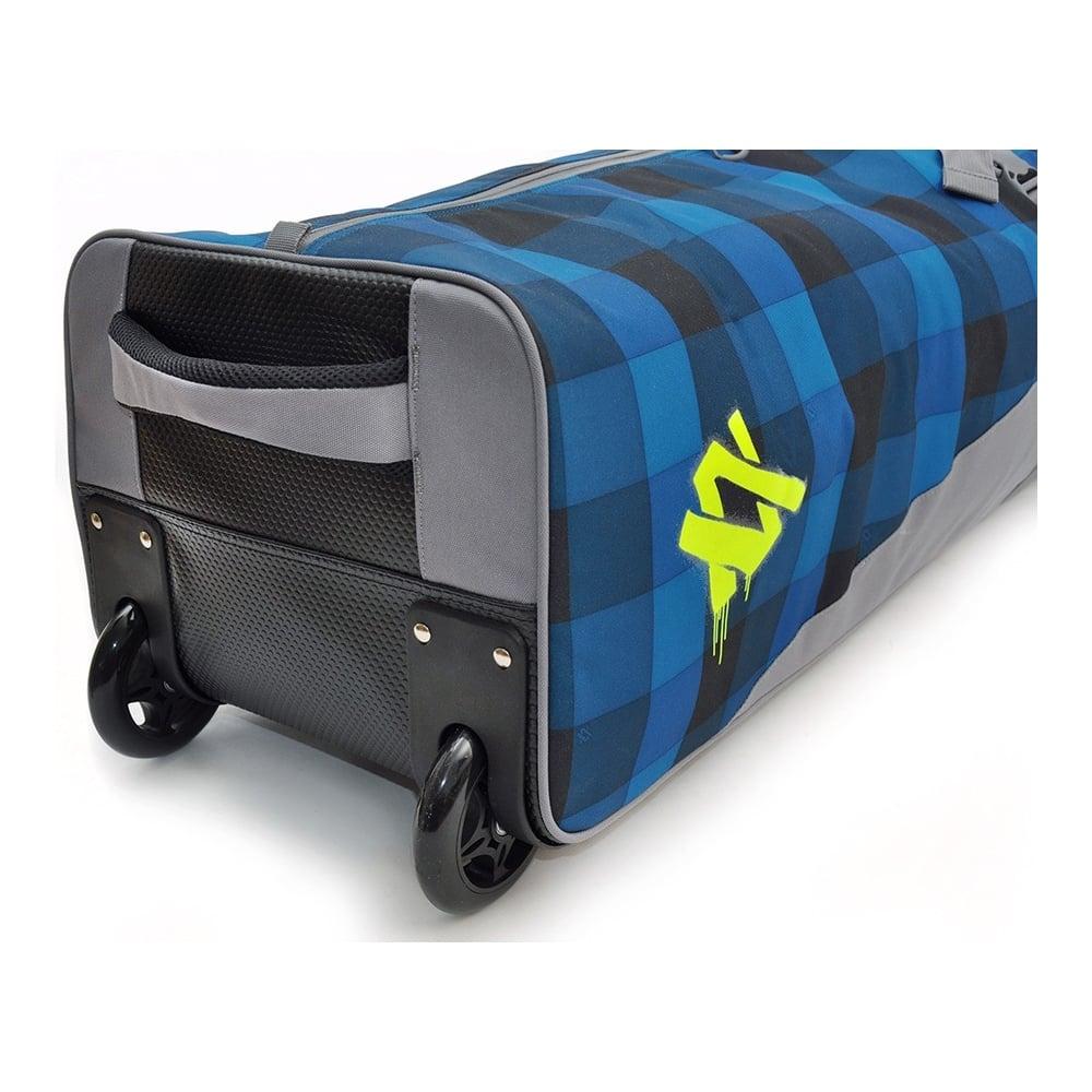 Free Jumbo Ski Wheel Bag For 6pairs 200cm Denim