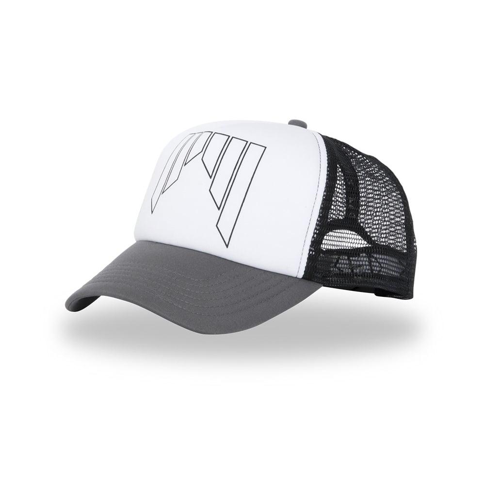 Shred trucker cap grey white hats caps beanies from ski jpg 1000x1000 Shred  head hat 0a91e10e3535