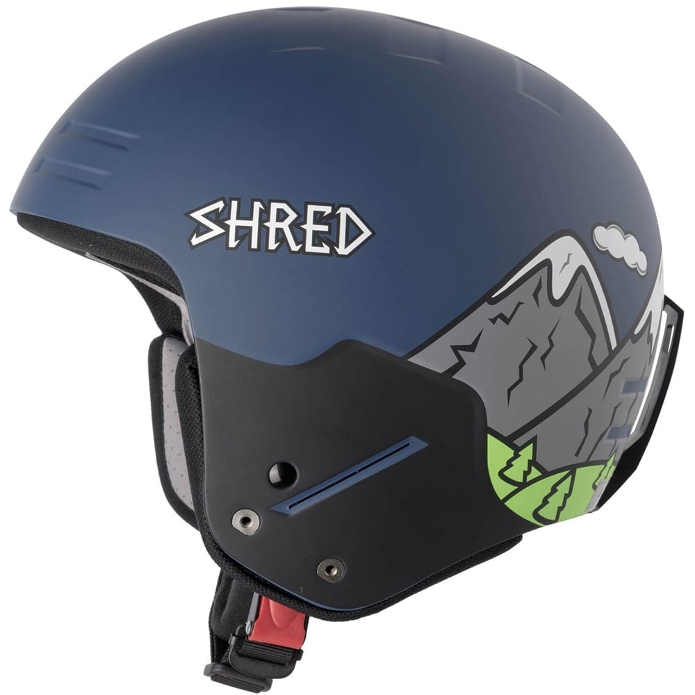 Shred Basher NoShock Helmet - Need More Snow (FIS Approved) 6dc8b752c80