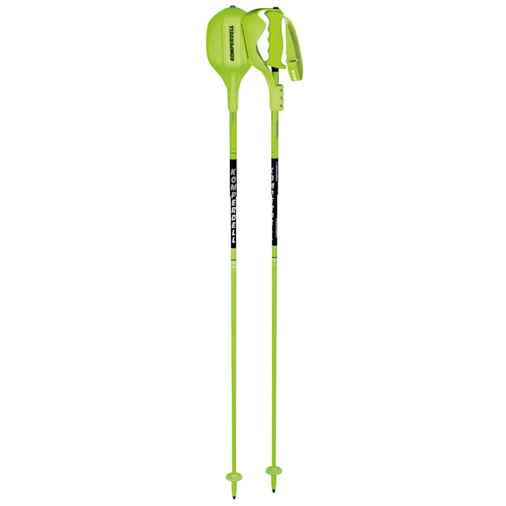 Komperdell Slalom Race Ski Poles National Team Carbon 123mm With Guard Pole