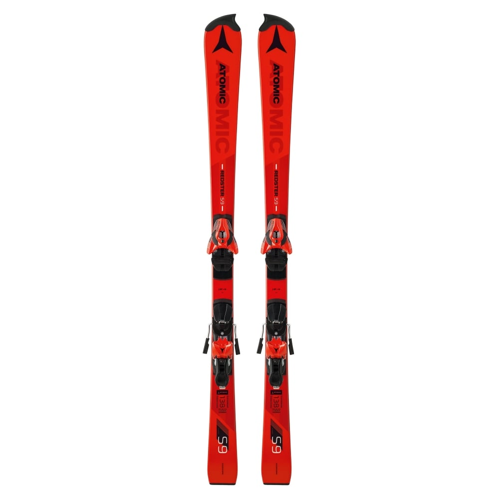 Atomic Redster S9 FIS Junior Slalom Race Skis 145cm + X12