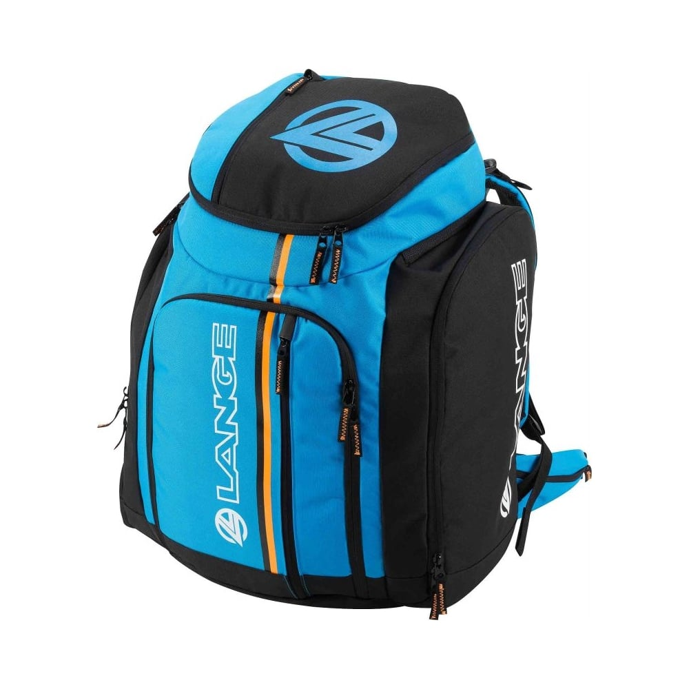 Lange Race Bag Backpack 95l Blue Orange Ski Equipment