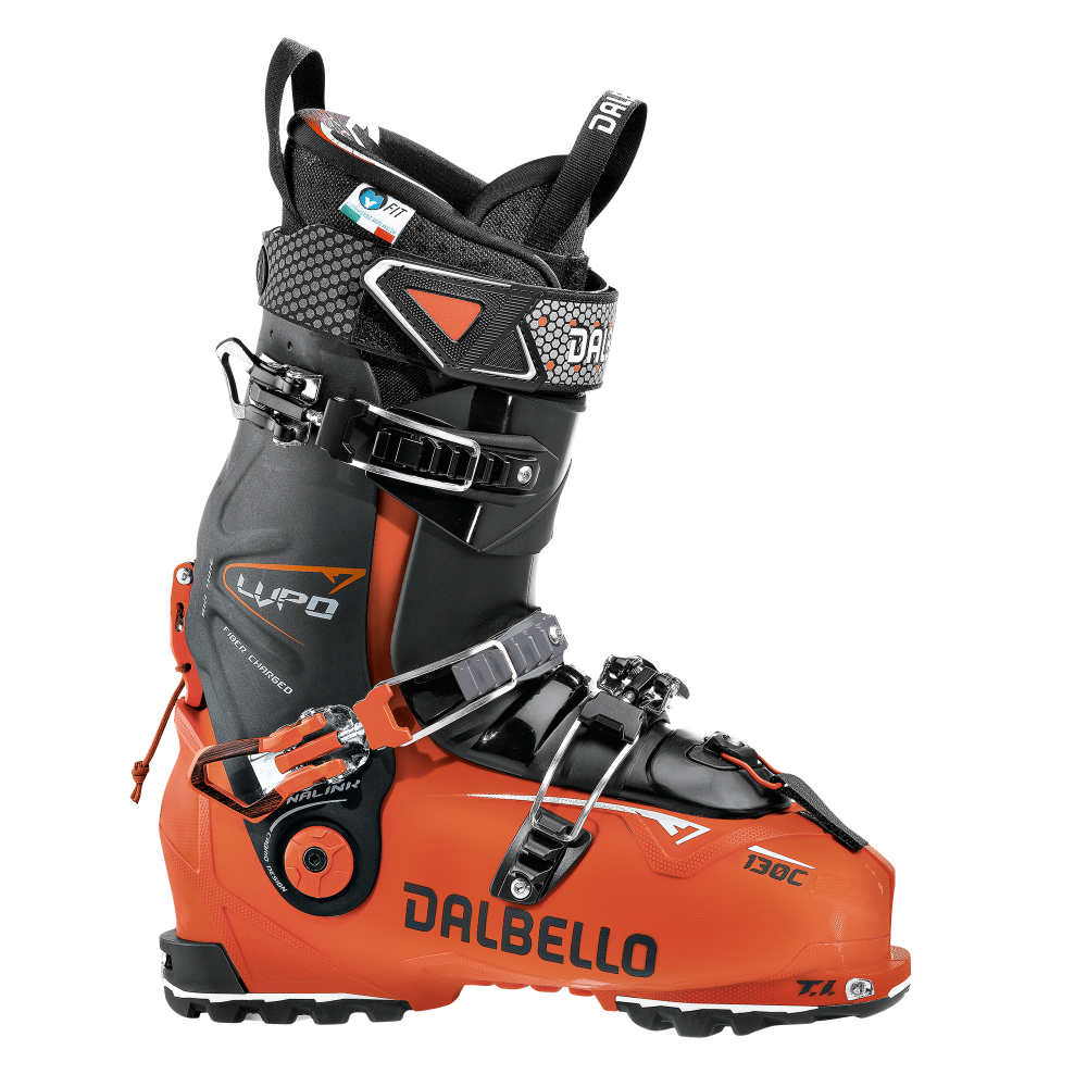 Dalbello Lupo 130 C Ski Touring Boot Orange Black Ski