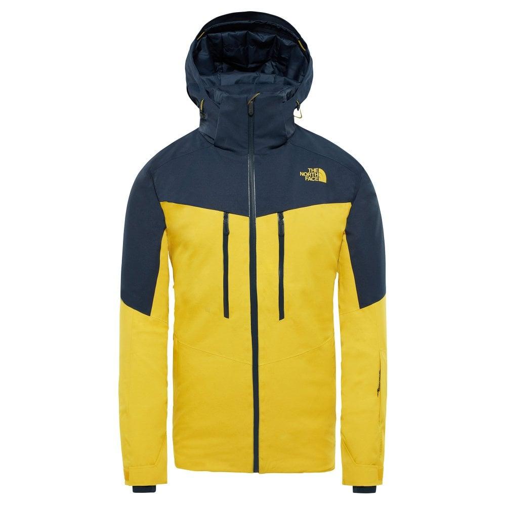 ... cheap the north face chakal mens ski jacket yellow navy 4c63b 542a6 dd269a616