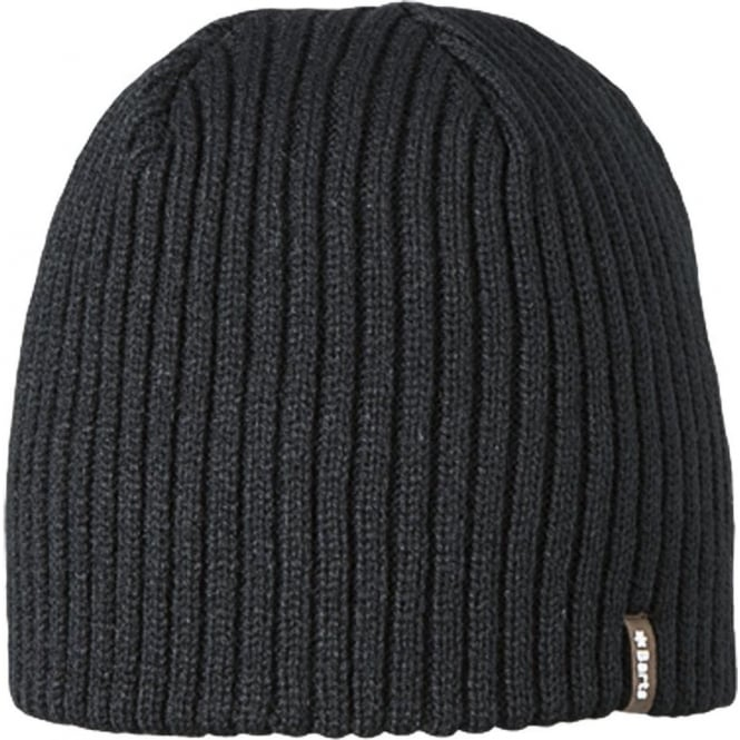 Barts Wilbert Beanie - Black - Hats 5a13d5bb561