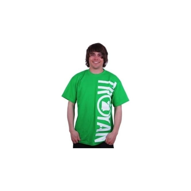 Troyan Mens Riders T Shirt - Green