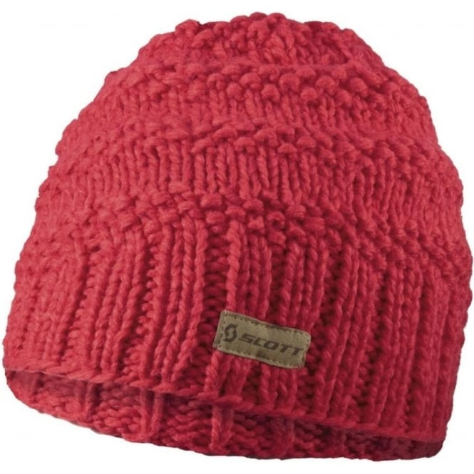 Scott Beanie MTN 30 - Hibiscus Red