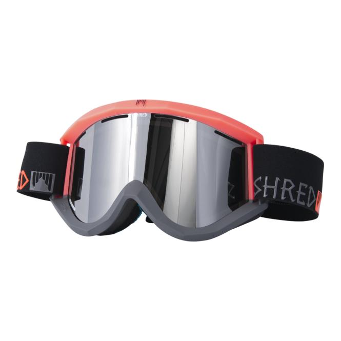 Shred Soaza Goggles - Popsicle/ Neon Rust