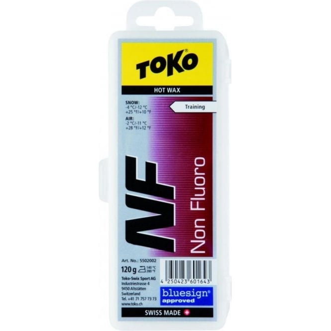 Toko NF Hot Wax Red Non Fluoro 120g