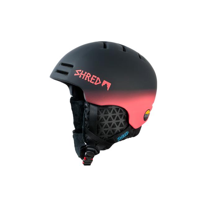 Shred Slam-cap Helmet - Dark Fader/Rust Orange