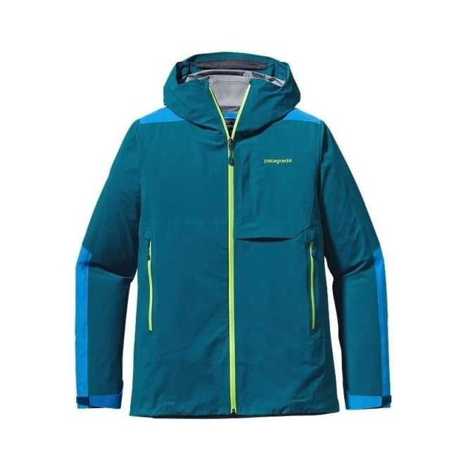 Patagonia Mens Tech Jacket Refugative - Underwater Blue