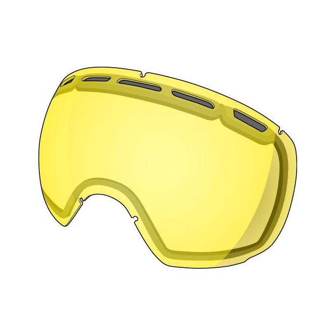 Shred Smartefy Double Goggle Lens - Yellow