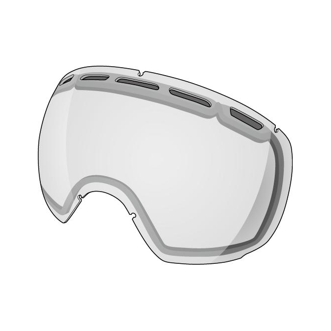 Shred Smartefy Double Goggle Lens - Clear