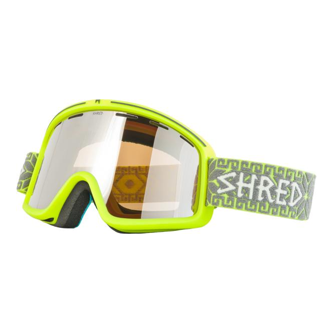 Shred Monocle Goggles - Norfolk Yellow