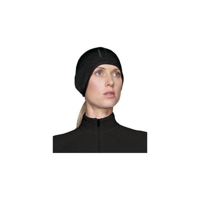 Icebreaker Quantum Headline Hat - Black - Mid   Base Layers from Ski ... 0eb3b34da698