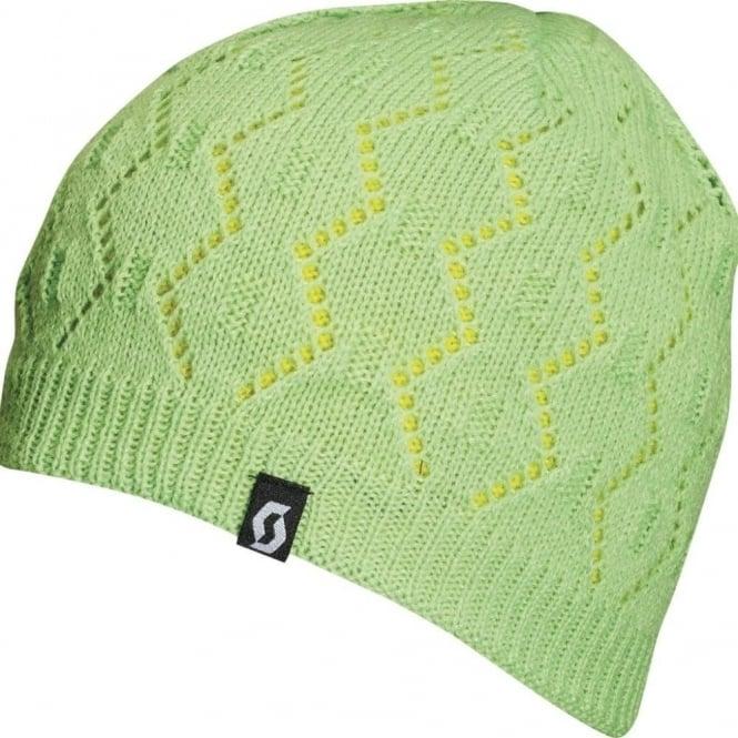Scott Beanie Astrid - Green Sulphur Yellow - Hats 57c83c7dbe2