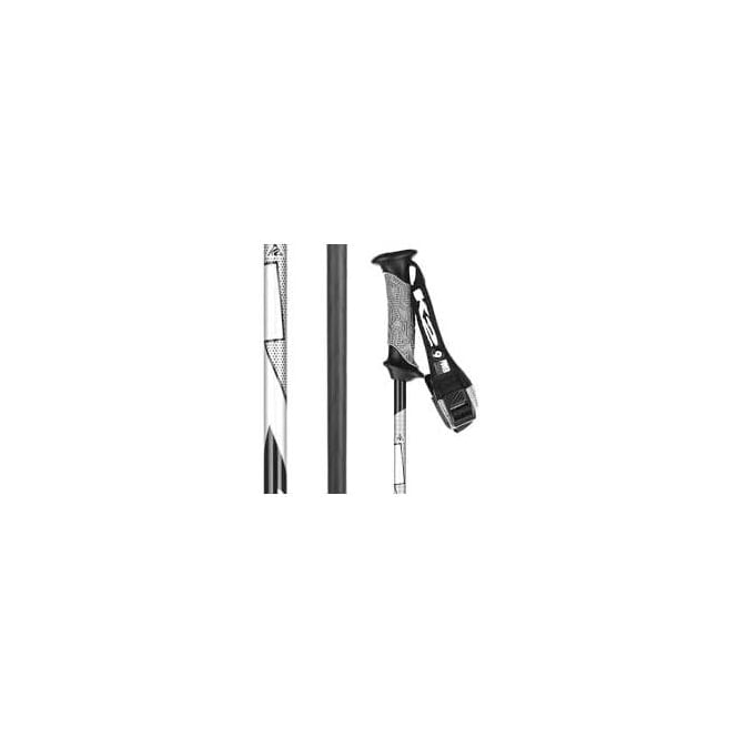 K2 Ski Pole Power 9 Carbon Black 130cms only