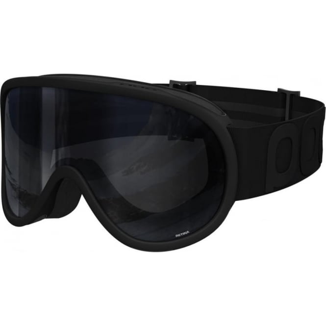 POC Retina Goggles - All Black With Black Lens