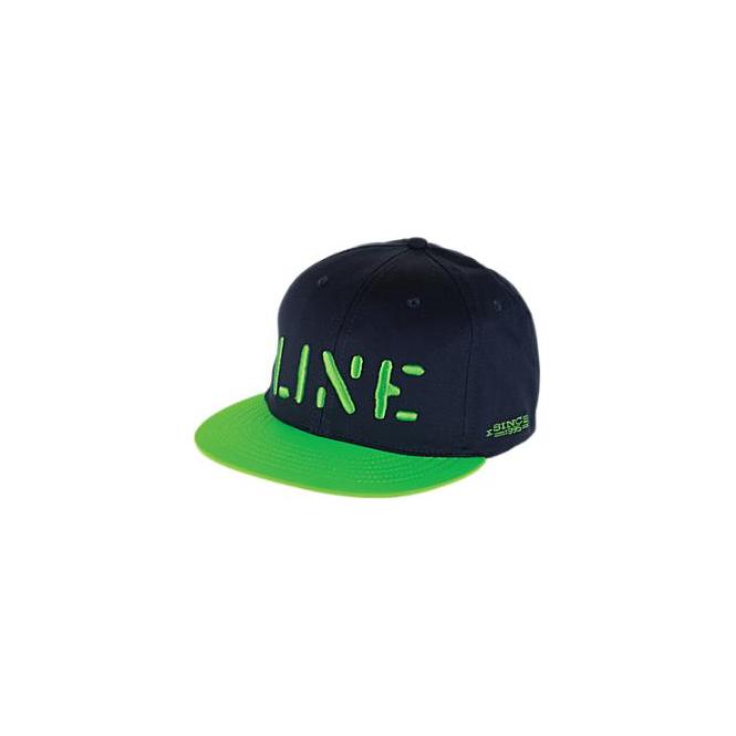 Line Line Cap Stencil Navy