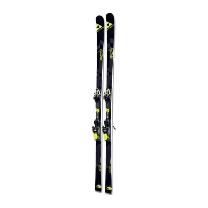 Fischer RC4 WC GS Race Skis Curve Booster 190cm 35m Skis Only (2017)