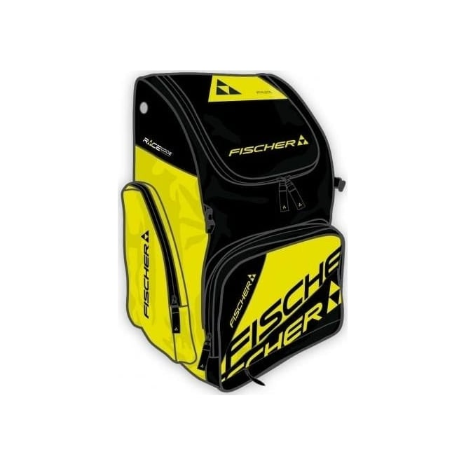 Fischer Junior Race Backpack Small 40L- Black/Yellow