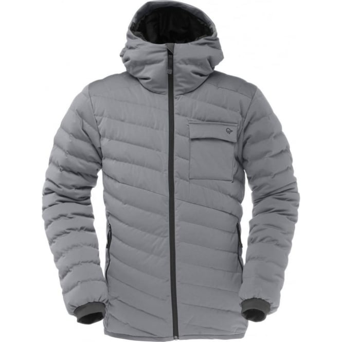 Norrona Mens Tamok Light Weight Down 750 Jacket - Mercury Grey