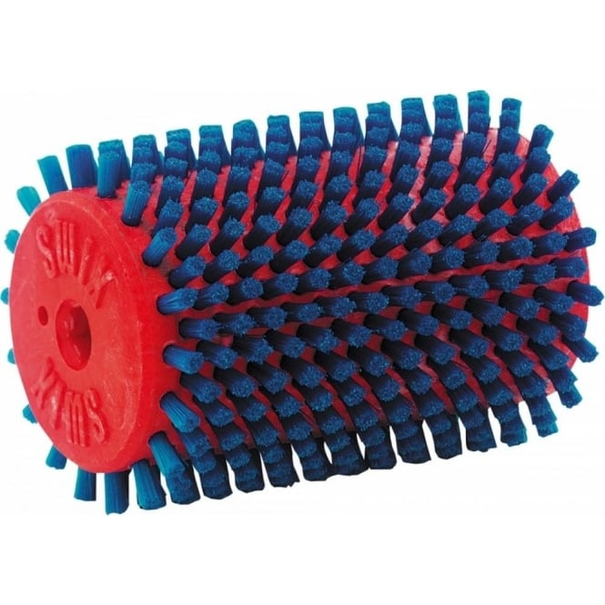 Swix Roto Brush Nylon RED - Suitable for round shaft with drive pin NOT hexagonal shaft