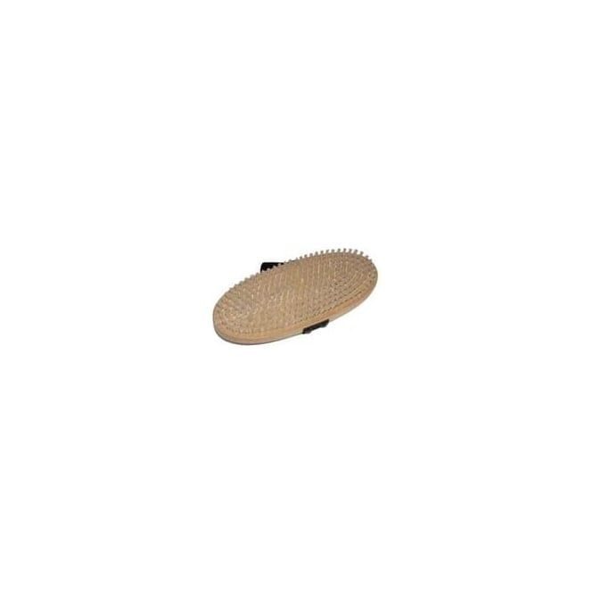 Kunzmann Flat Speed Oval Base Brush - Nylon