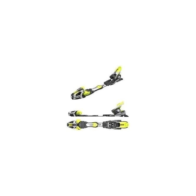 Tyrolia Bindings Freeflex Pro 20X RS BR Black/Yellow
