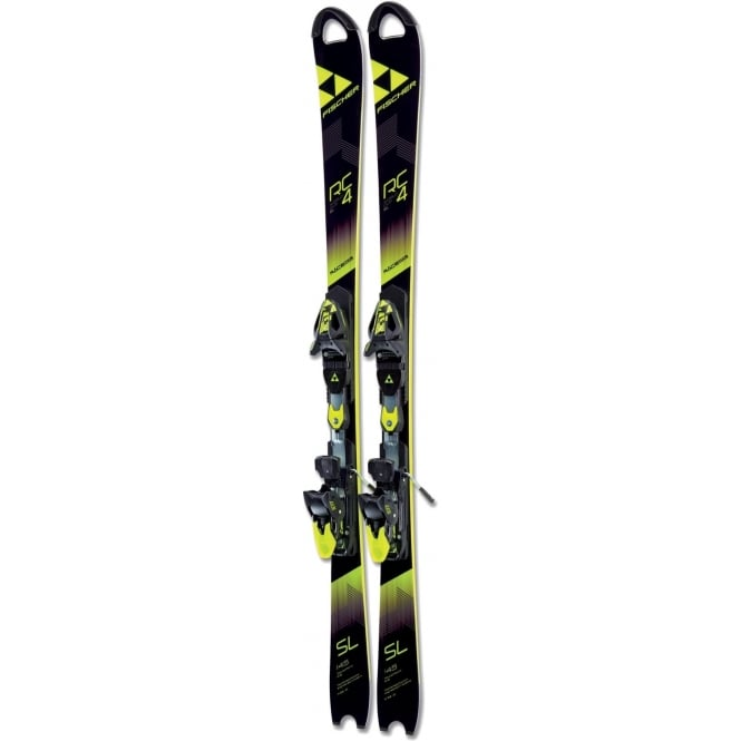 Fischer RC4 WC SL Junior Slalom Skis 125cm SkiS Only (2018)