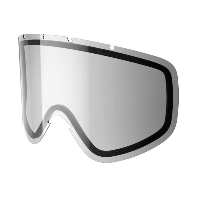 POC Iris Double Goggle Lens - Clear Silver Mirror ( Small Fit )
