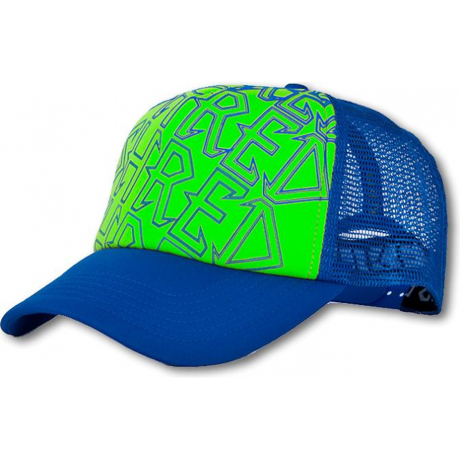 Shred Trucker Cap - Green Blue