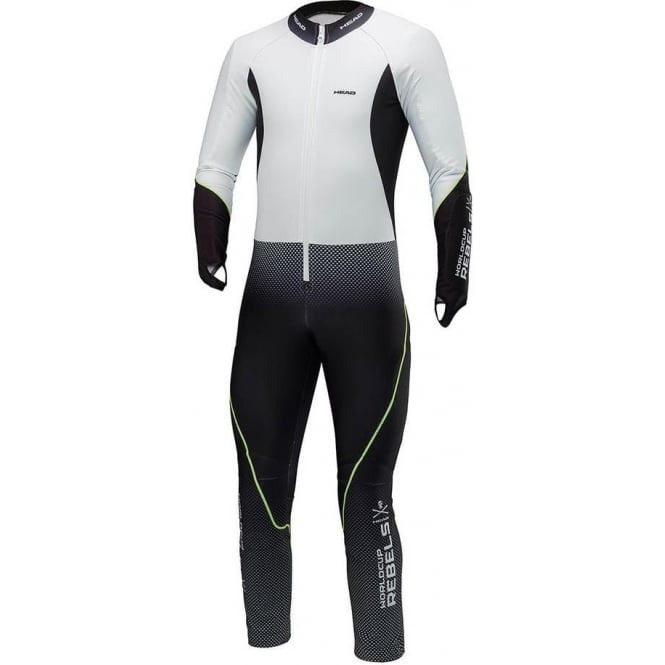 Head Race Team Junior Catsuit - Black/White