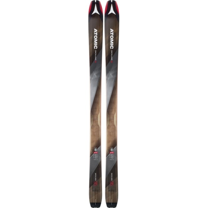 Atomic Backland 95 Touring Skis 185cm + Hybrid Skin (2018)
