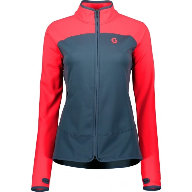 Scott Defined Tech Women's Jacket - Melon Red/Nightfall Blue