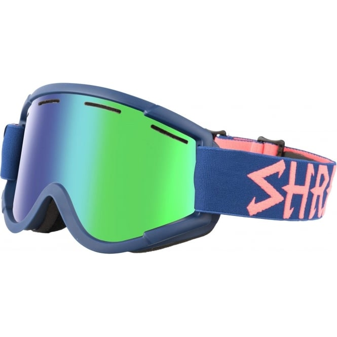 Shred Nastify Goggles - Grab/Cobalt Green/Plasma